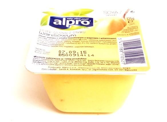 Alpro, Deser sojowy o smaku waniliowym (1)