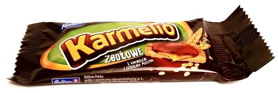 Bahlsen, Krakuski, Karmelio zbożowe z karmelem i czekoladą mleczną (1)