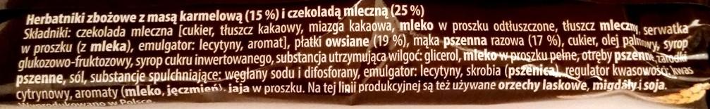 Bahlsen, Krakuski, Karmelio zbożowe z karmelem i czekoladą mleczną (2)
