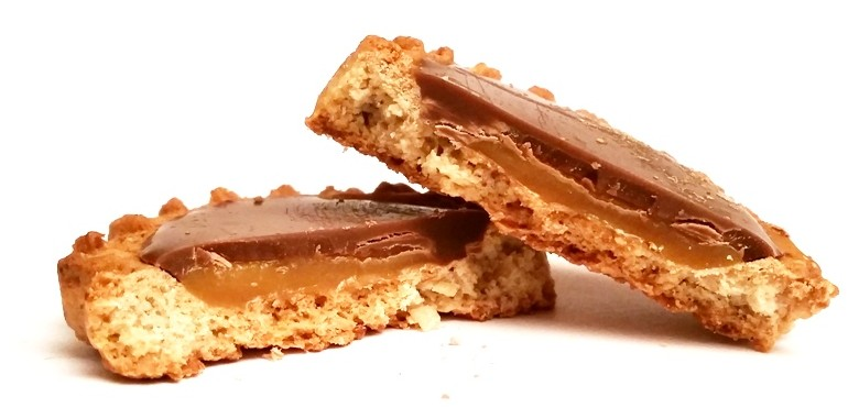 Bahlsen, Krakuski, Karmelio zbożowe z karmelem i czekoladą mleczną (4)