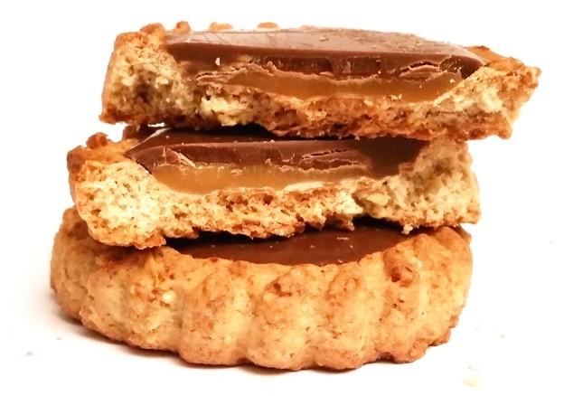 Bahlsen, Krakuski, Karmelio zbożowe z karmelem i czekoladą mleczną (6)