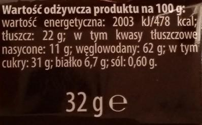 Bahlsen, Krakuski, Karmelio zbożowe z karmelem i czekoladą mleczną (8)