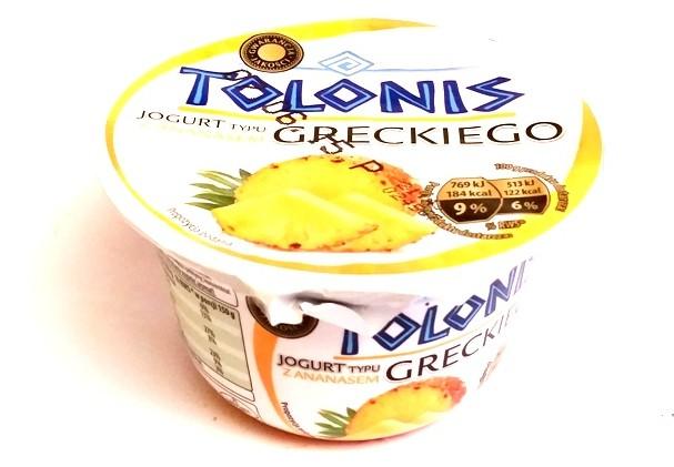 Lactalis, Tolonis jogurt typu greckiego z ananasem (1)