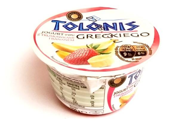 Lactalis, Tolonis jogurt typu greckiego z truskawkami i bananem (1)