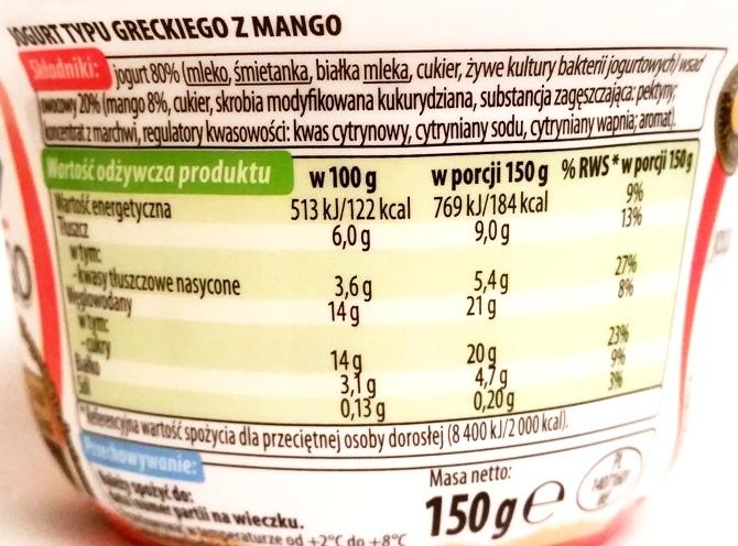 Lactalis, Tolonis jogurt typu greckiego z truskawkami i bananem, z ananasem, z mango, z wiśniami (5)