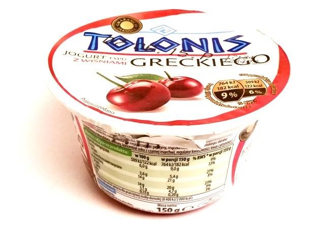 Lactalis, Tolonis jogurt typu greckiego z wiśniami (1)