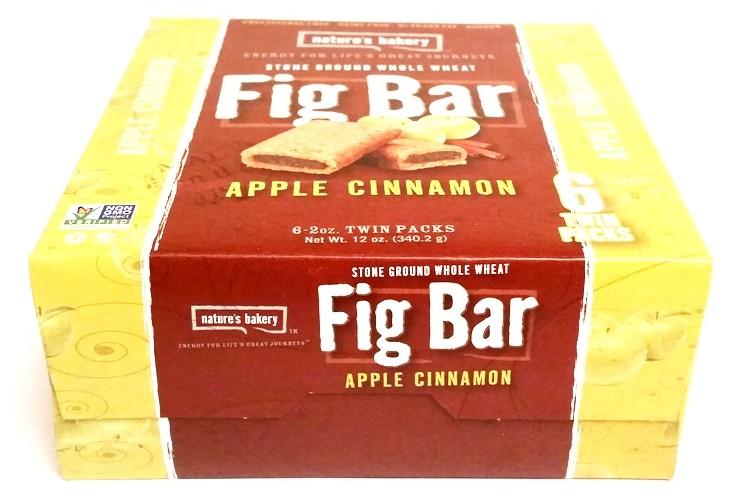 Natures Bakery, Fig Bar Apple Cinnamon (1)