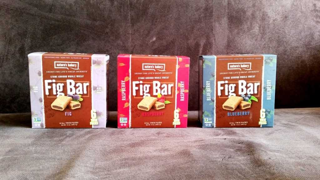 Natures Bakery, Fig Bar all flavours (1)