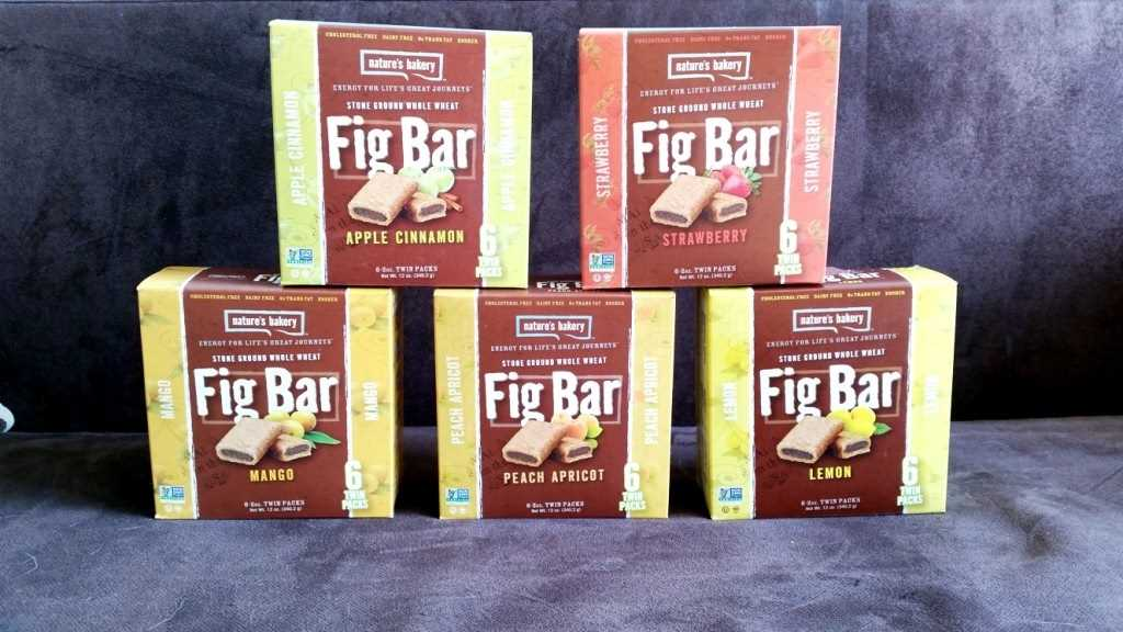 Natures Bakery, Fig Bar all flavours (2)