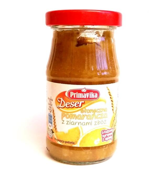 Primavika, Deser słoneczna pomarańcza z ziarnami zbóż