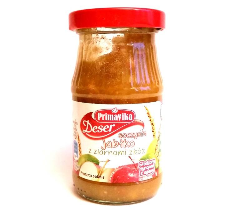 Primavika, Deser soczyste jabłko z ziarnami zbóż