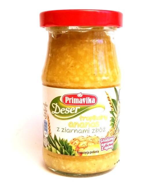 Primavika, Deser tropikalny ananas z ziarnami zbóż