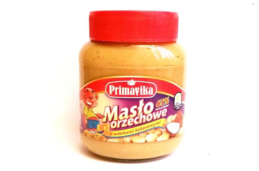 Primavika, Masło orzechowe z wiórkami kokosowymi