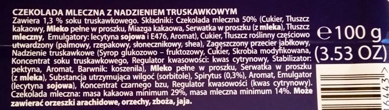 Wedel, Mleczna Truskawkowa (6)