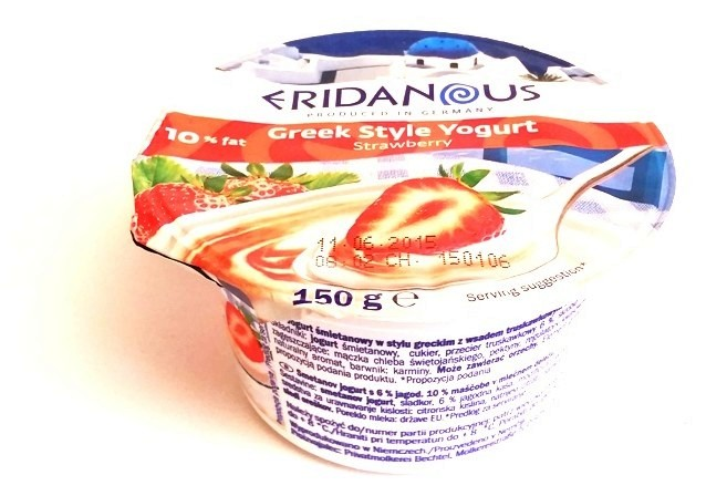 Eridanous, Greek Style Yogurt Stawberry (1)