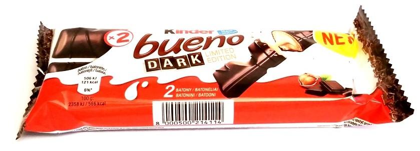 Ferrero, Kinder Bueno Dark (1)