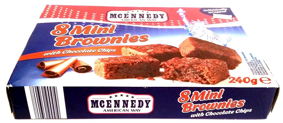 McEnnedy, Mini Brownies with Chocolate Chips Lidl tydzień amerykański (1)