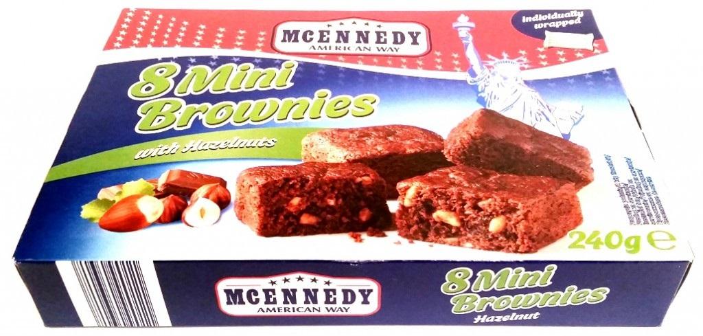 McEnnedy, Mini Brownies with Hazelnuts Lidl tydzień amerykański (1)