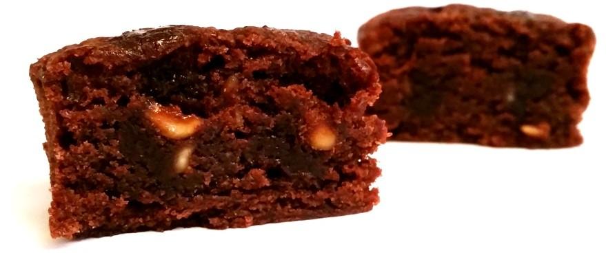 McEnnedy, Mini Brownies with Hazelnuts Lidl tydzień amerykański (5)
