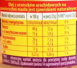 Primavika, Masło orzechowe z wiórkami kokosowymi (3)