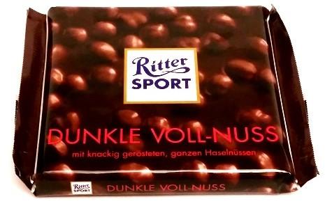 Ritter Sport, Dunkle Voll-Nuss (1)