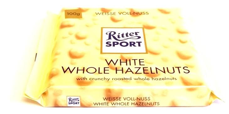 Ritter Sport, Weisse Voll-Nuss - White Whole Hazelnuts (1)