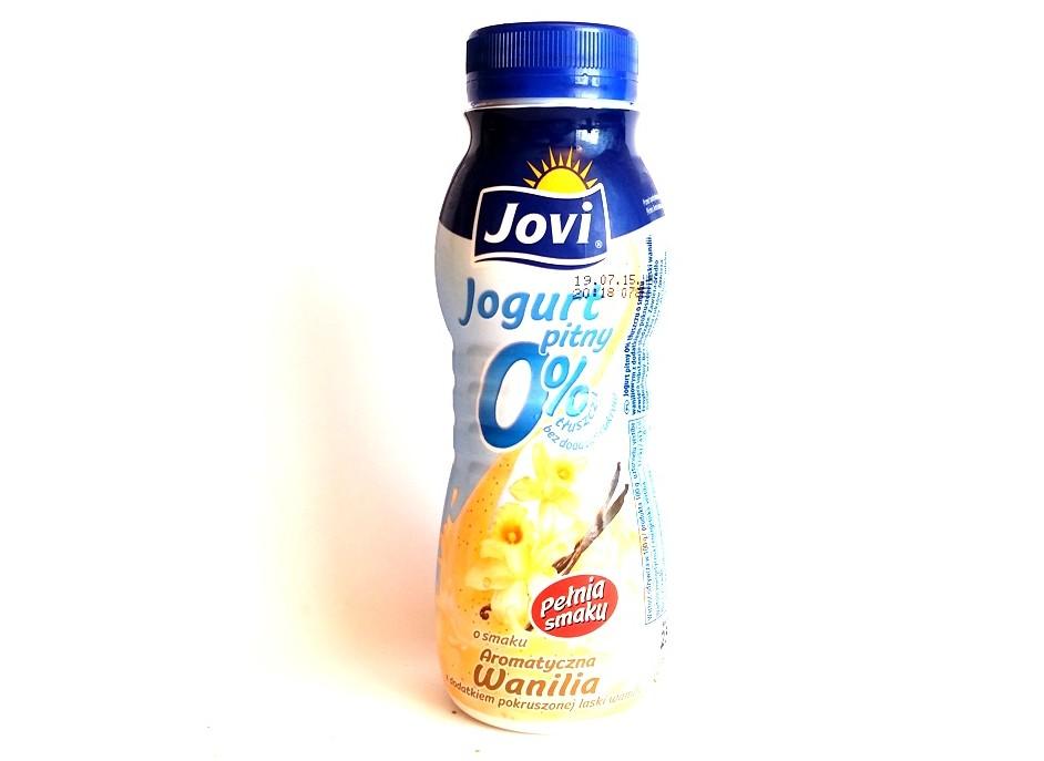 Jovi, Jogurt pitny 0 light Aromatyczna Wanilia (1)