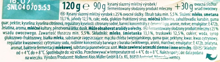 Muller, Greek Style Mix Mousse Relaxing Strawberry (3)
