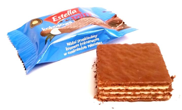 Goplana, Estella mini w czekoladzie kokosowa (1)