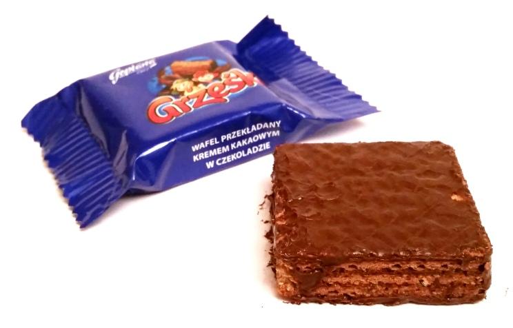 Goplana, Grześki kakaowe w czekoladzie (1)