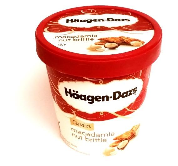 Haagen-Dazs, Macadamia Nut Brittle (1)