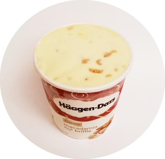 Haagen-Dazs, Macadamia Nut Brittle (4)