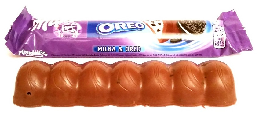 Milka, Milka and Oreo baton (1)