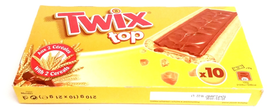 Mars, Twix top (1)