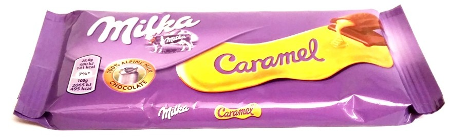 Milka, Caramel 100 g (1)