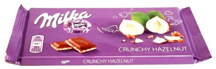 Milka, Crunchy Hazelnut (1)