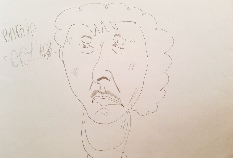 Rysunek babcia Halinka (1)