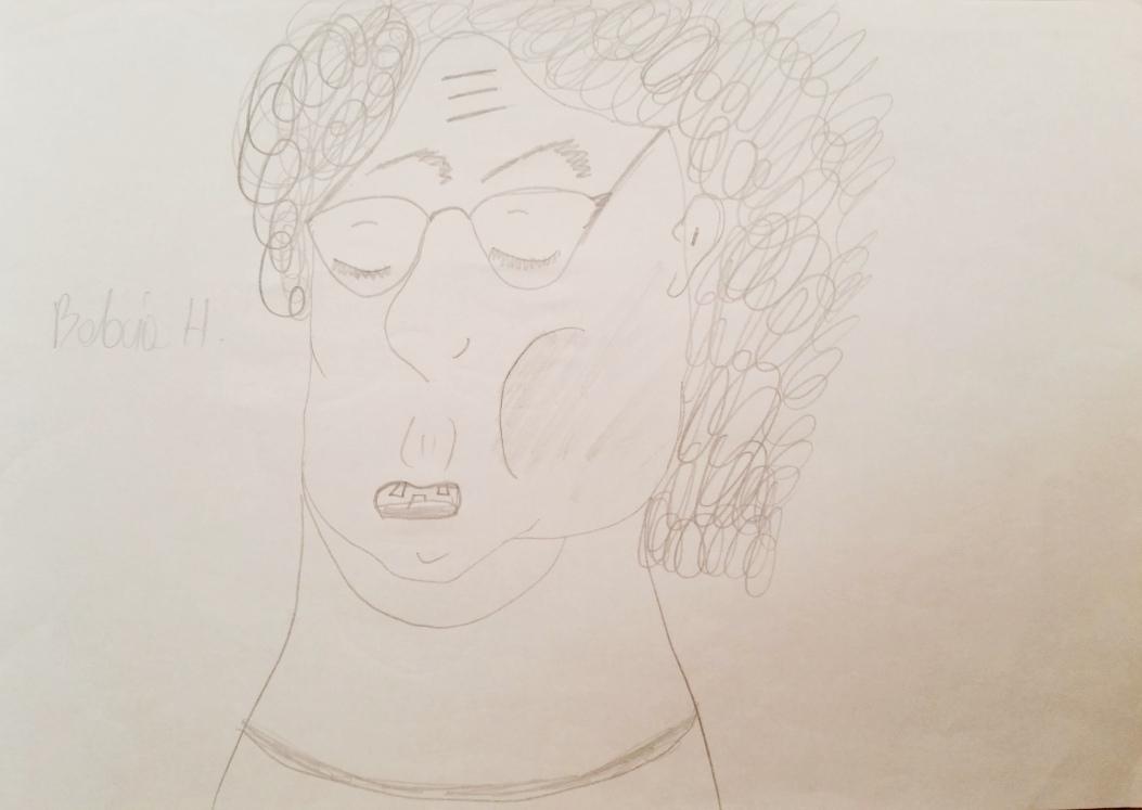 Rysunek babcia Halinka (2)
