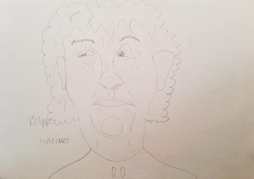 Rysunek babcia Halinka (3)