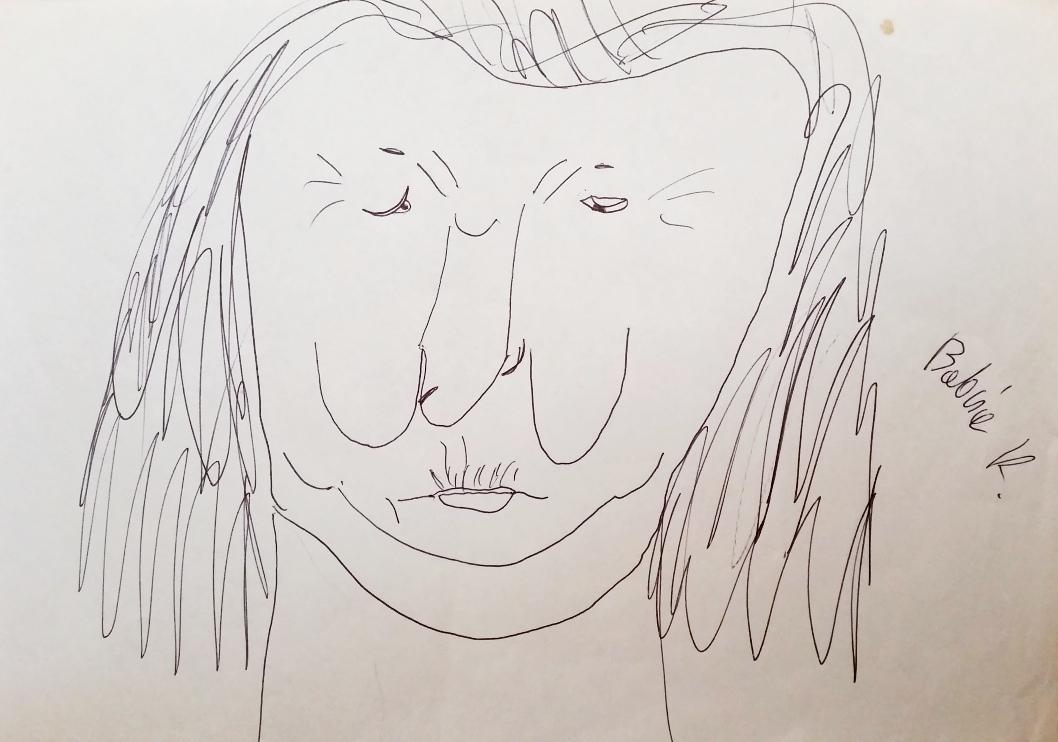 Rysunek babcia Kazia (2)