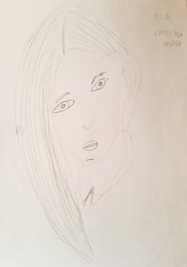 Rysunek mamy - ja (2)