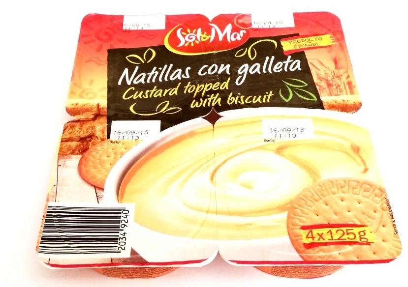 Sol&Mar, Natillas con galleta (1)