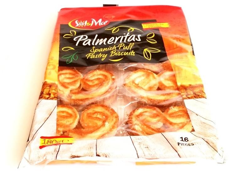 Sol&Mar, Palmeritas Spanish Puff Pastry Biscuits