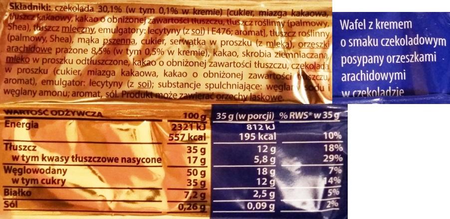 Goplana, Grzeski z orzeszkami arachidowymi (6)