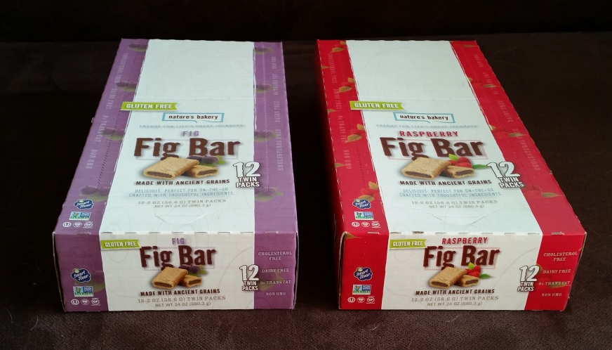 Natures Bakery, Fig Bar Gluten Free and Pumpkin Spice (2)