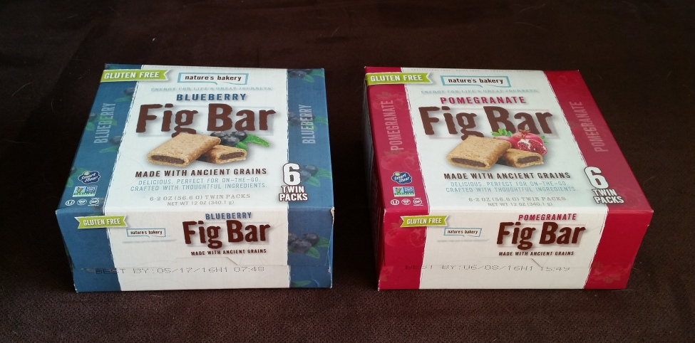 Natures Bakery, Fig Bar Gluten Free and Pumpkin Spice (3)