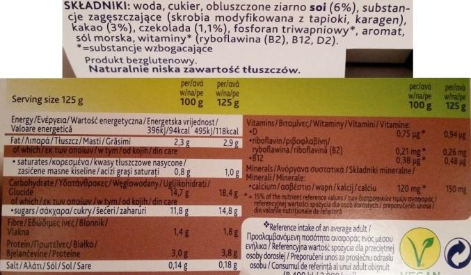 Alpro, Devilishly Dark Chocolate (3)