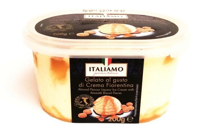Italiamo, Gelato al gusto di Crema Fiorentina (1)