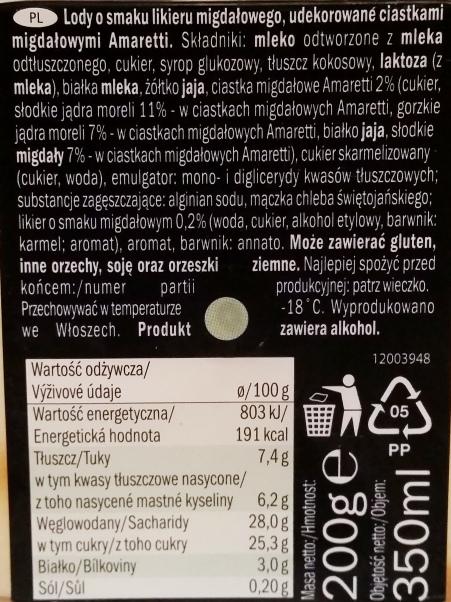 Italiamo, Gelato al gusto di Crema Fiorentina (2)