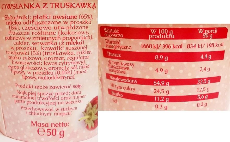 Mokate, Owsianka z truskawką (3)